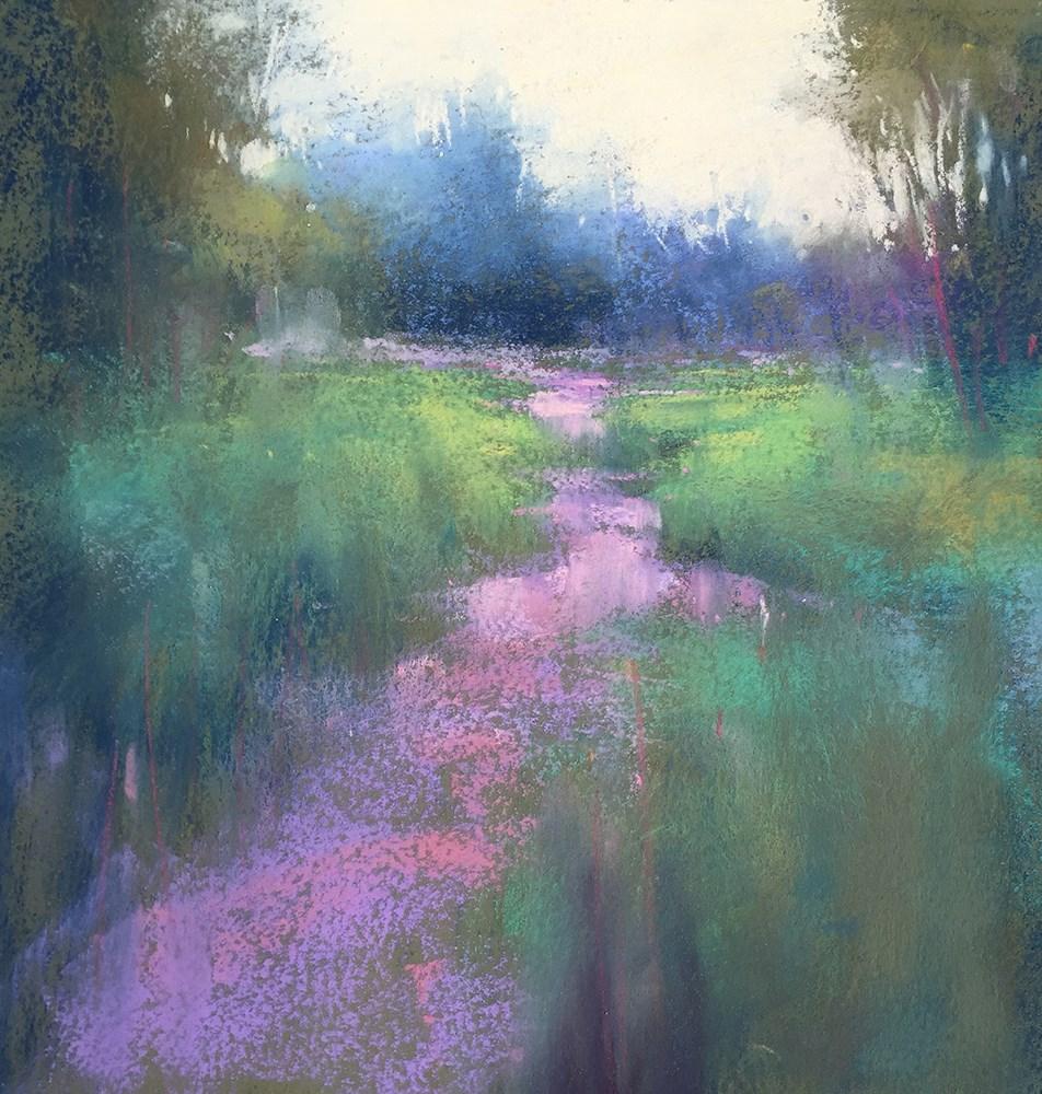 """""""Elk Rock Walk"""" original fine art by Marla Baggetta"""