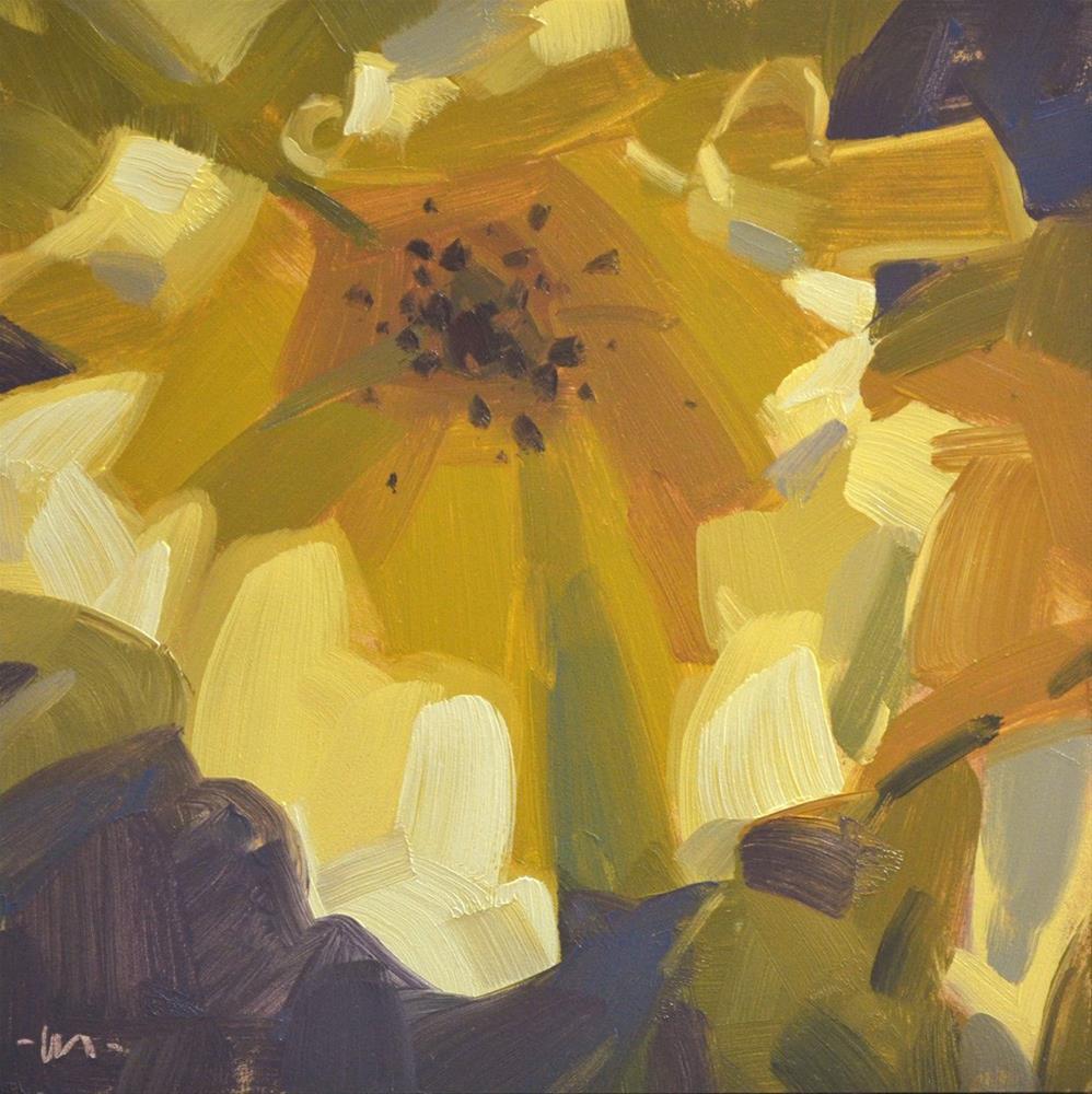 """Sunshine of Your Love"" original fine art by Carol Marine"
