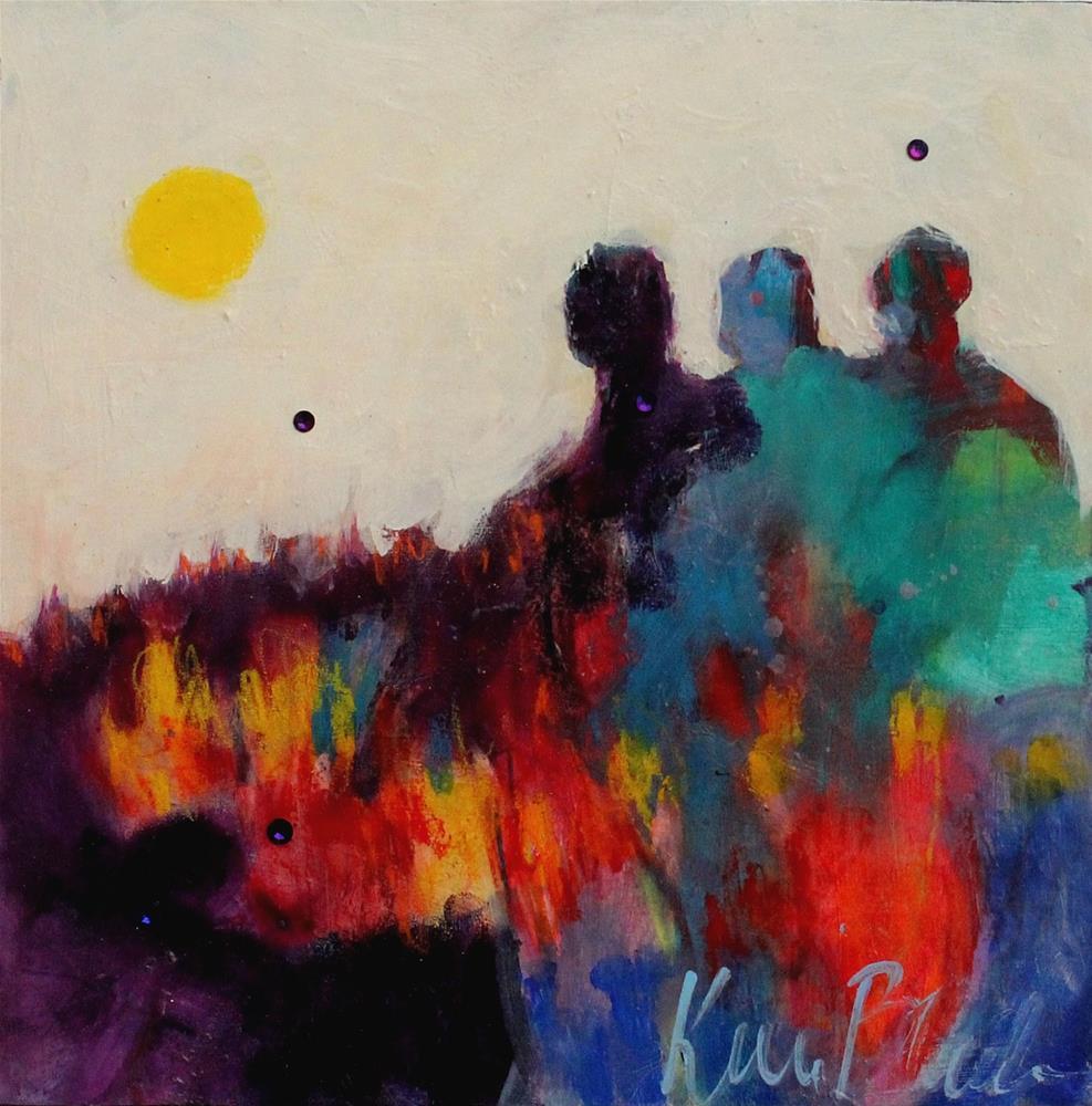 """""""Fire Walkers"""" original fine art by Kerri Blackman"""