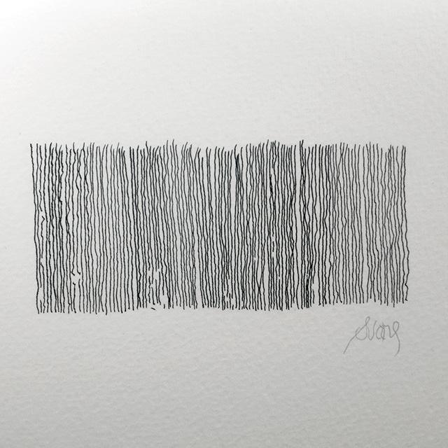 """4 MEASURES 3 PERSONS 1 SHADOW"" original fine art by Craig Svare"