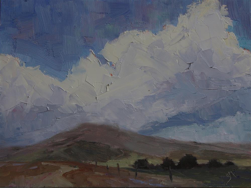 """""""Summer Billow"""" original fine art by Sheila Marie"""
