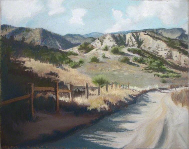 """Dry Run"" original fine art by Susan Z. Forbush"
