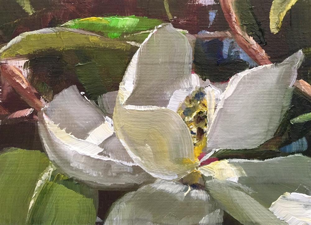 """Magnolia"" original fine art by Gary Bruton"