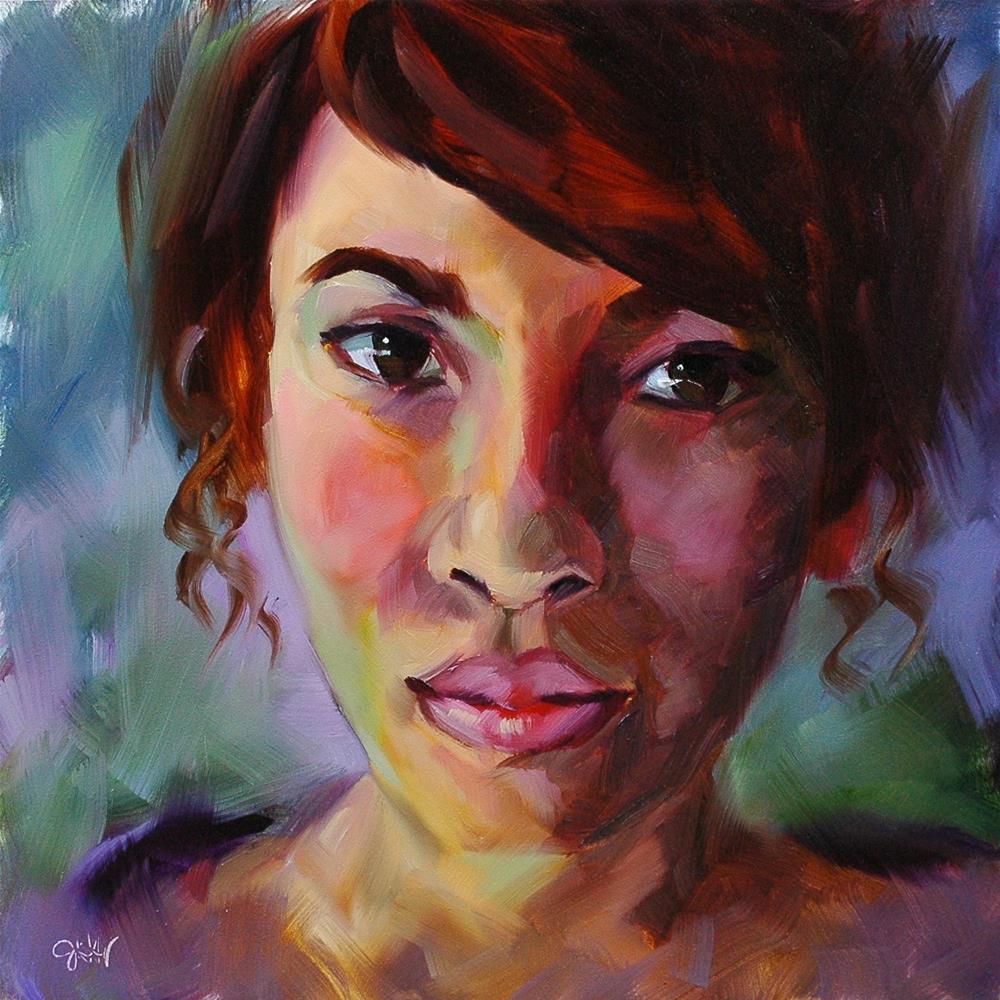 """Sincerity"" original fine art by Janette Harter"