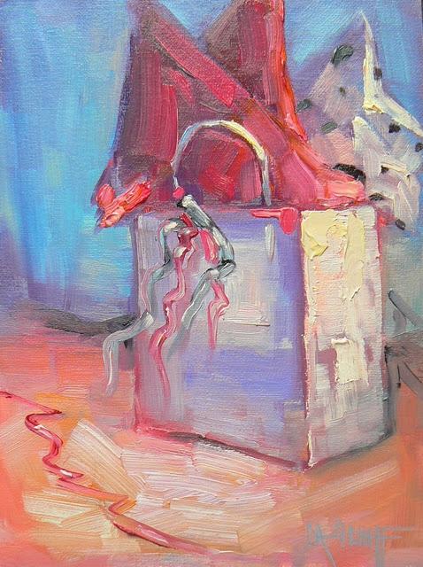 """CELEBRATION"" original fine art by Carol Schiff"