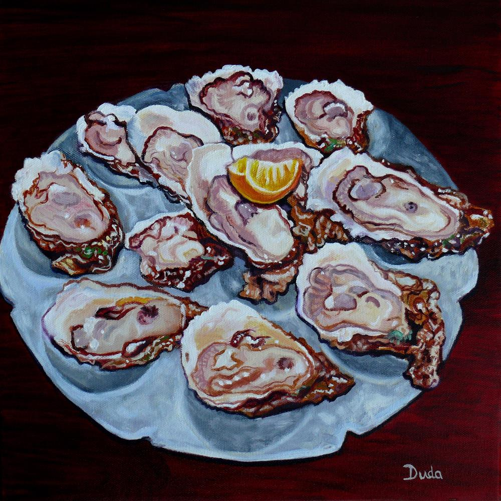 """Apalachicola Fresh"" original fine art by Susan Duda"