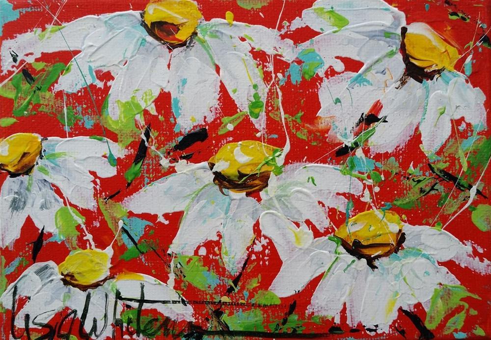 """70 - Thankful"" original fine art by Lisa Rogers"