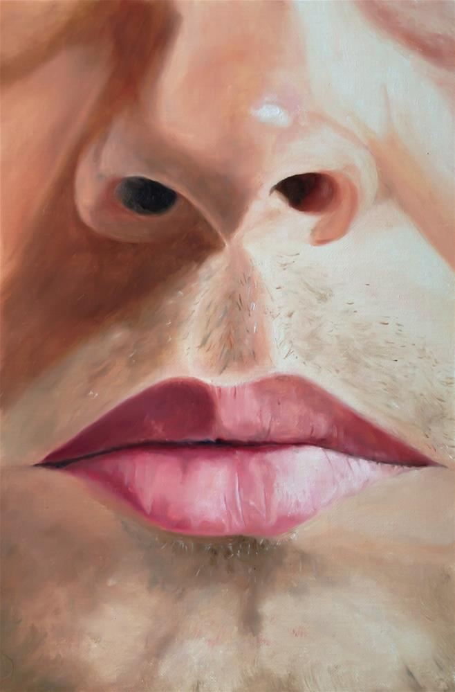 """Nose and Mouth"" original fine art by James Coates"