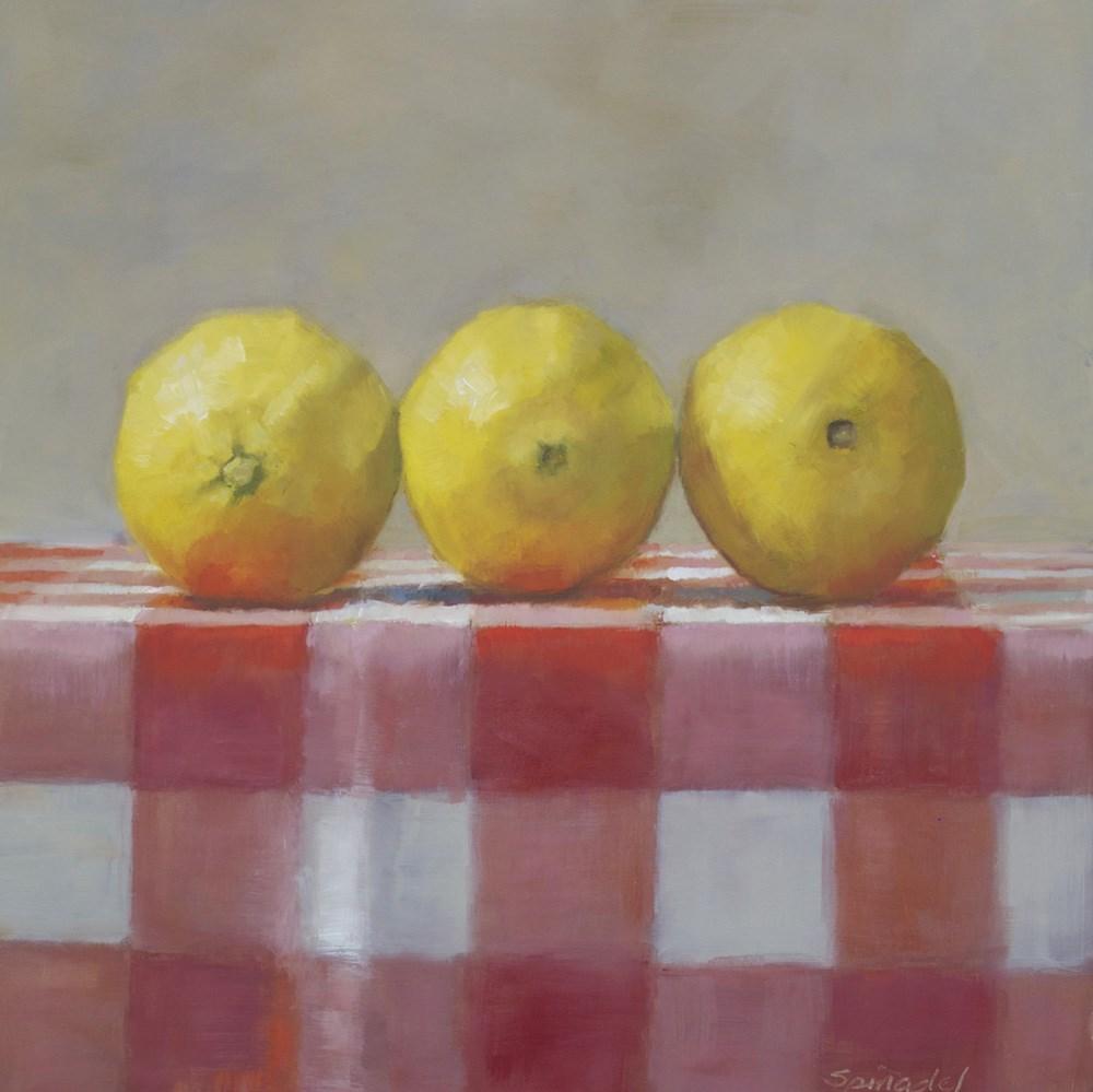 """Three Part Harmony"" original fine art by Nancy  Spinadel"