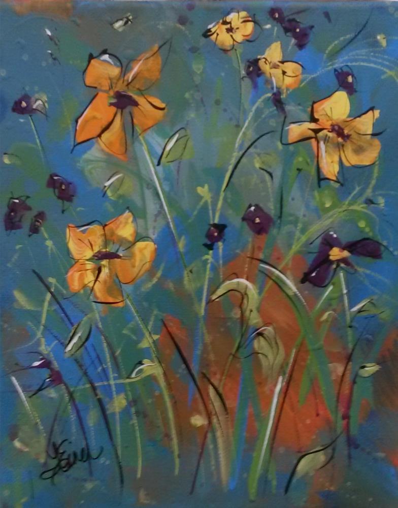 """""""Summer Rythm"""" original fine art by Terri Einer"""