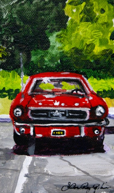 """Taking Two Spaces"" original fine art by JoAnne Perez Robinson"