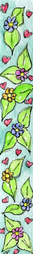 """Blooming Love"" original fine art by Kali Parsons"