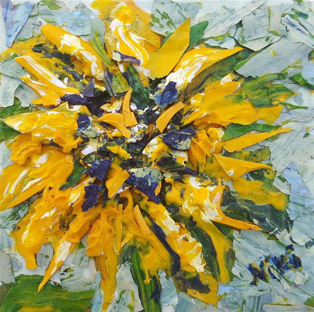 """""""Sonnenblume"""" original fine art by Niki Hilsabeck"""