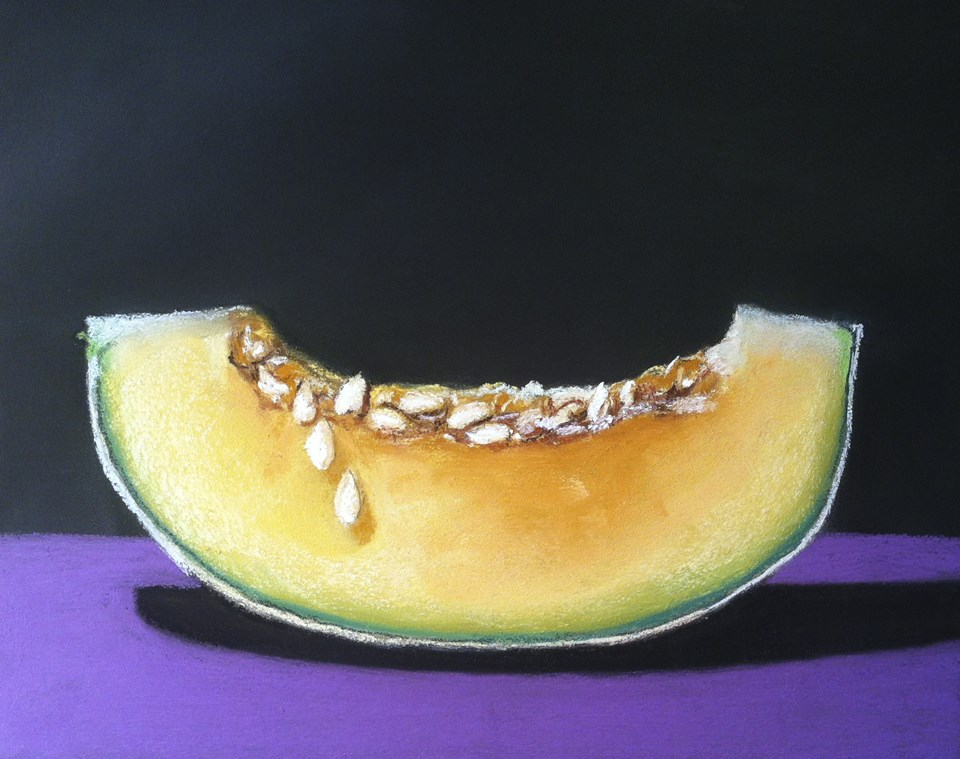 """Single Slice"" original fine art by Cristine Kossow"