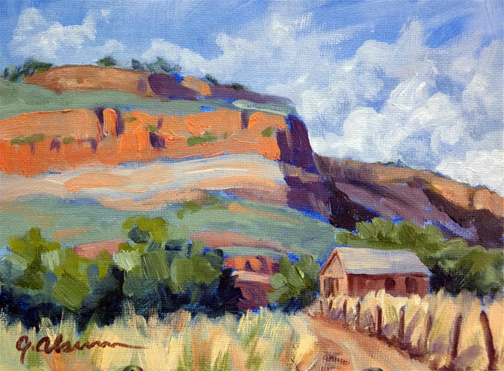 """Big Thompson Bluffs"" original fine art by Gary Alsum"