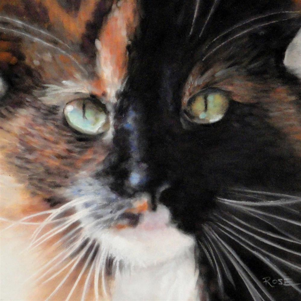 """Lulu Belle"" original fine art by Heidi Rose"