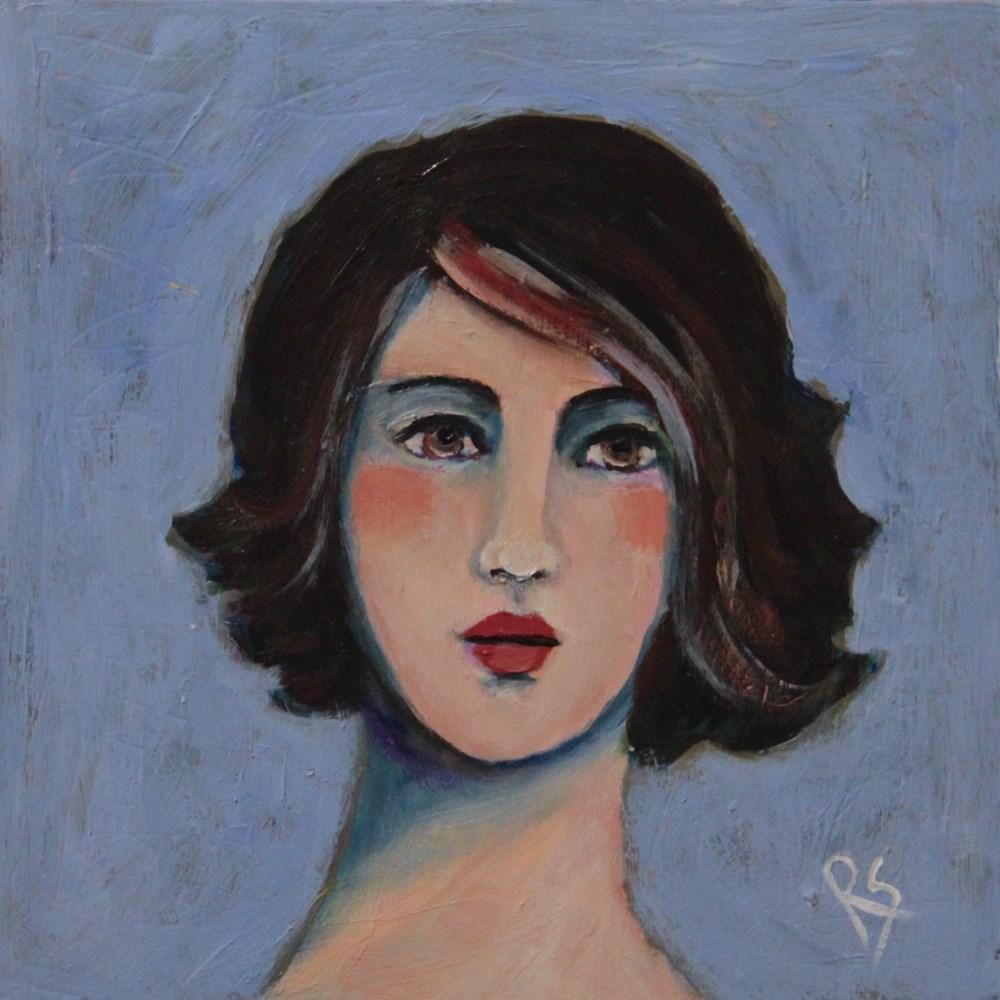 """Sydney"" original fine art by Roberta Schmidt"