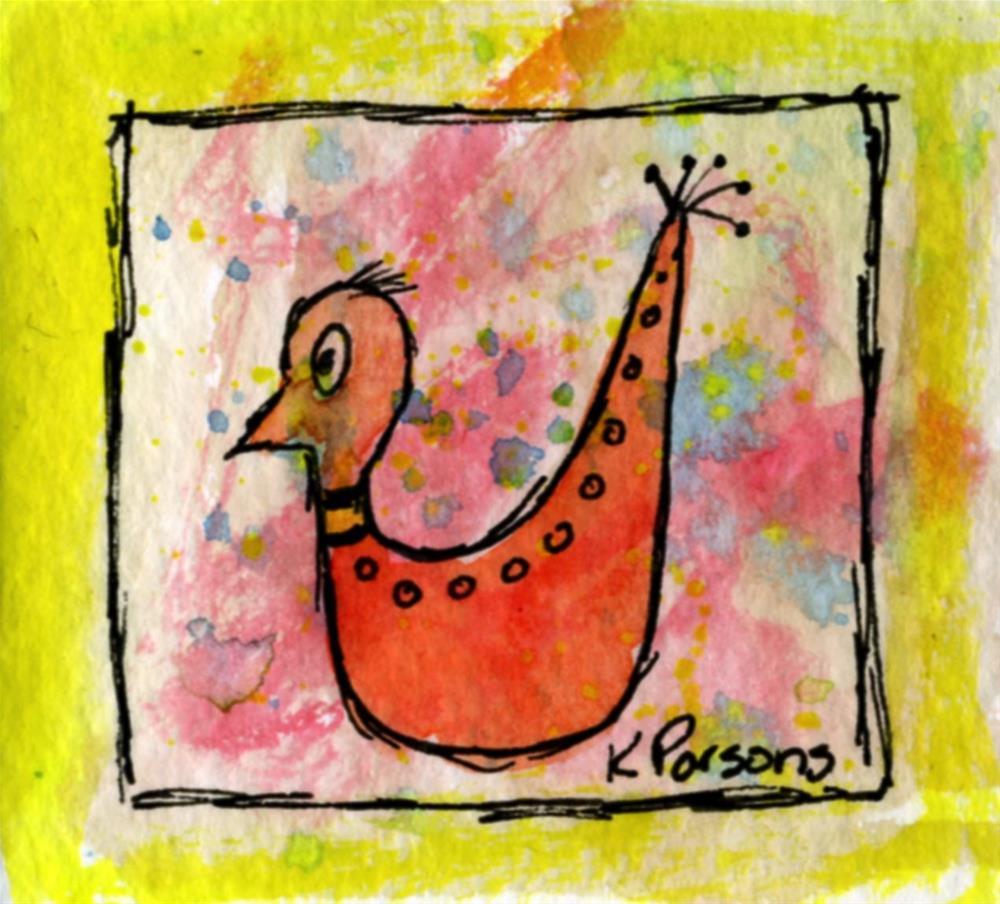 """""""Spots on my back"""" original fine art by Kali Parsons"""
