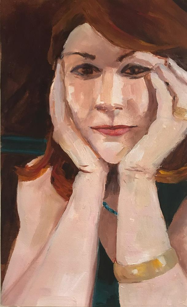 """Mary"" original fine art by Donna Dumont"