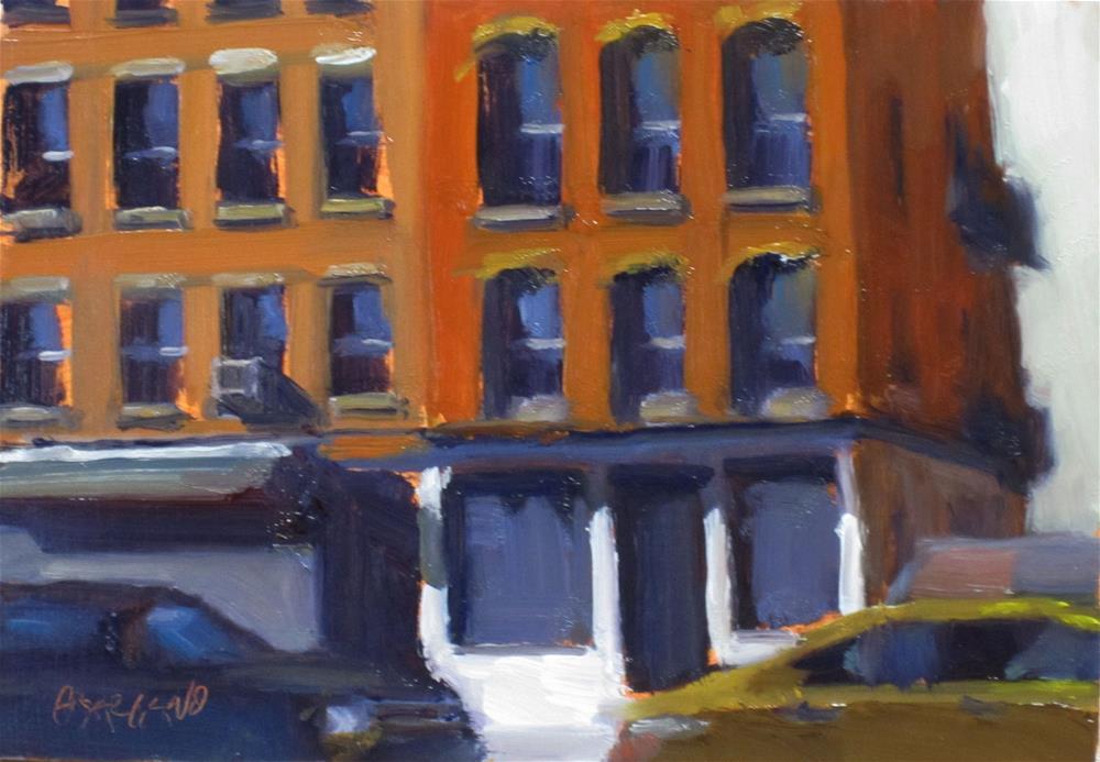 """downtown light"" original fine art by Dan Graziano"