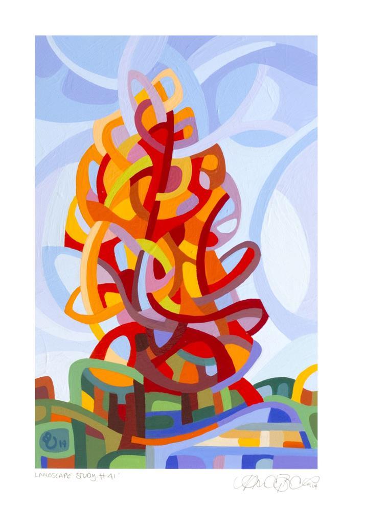 """Landscape Study #41"" original fine art by Mandy Budan"