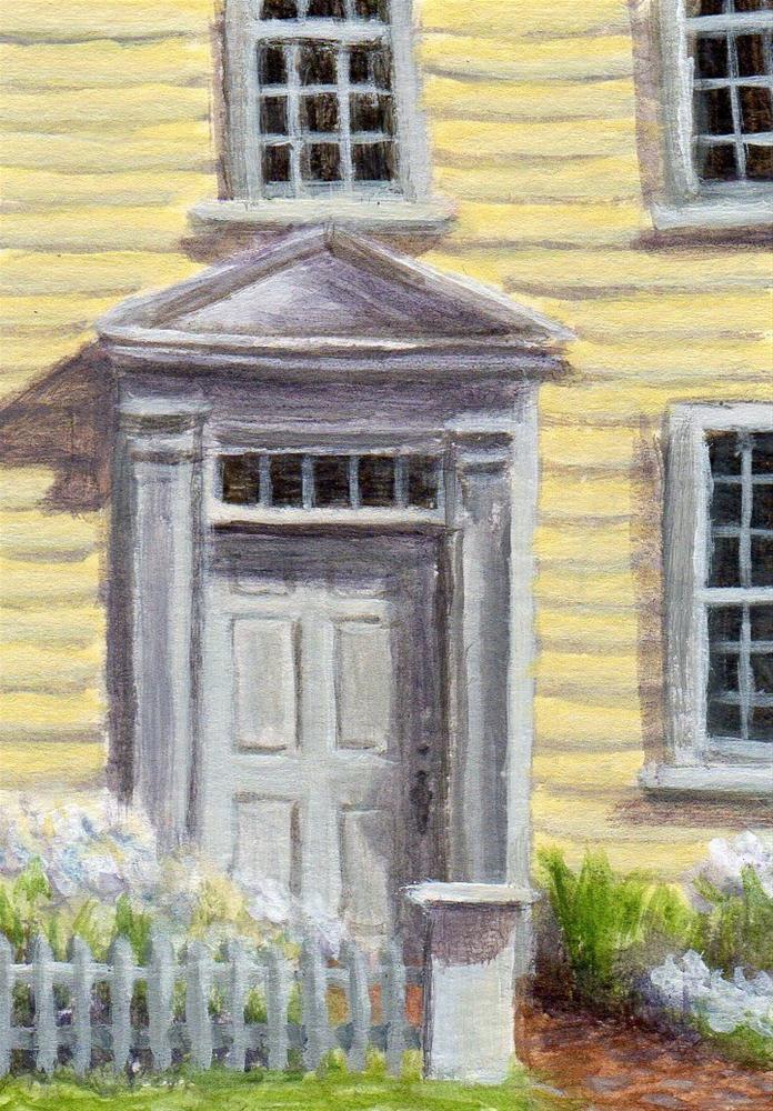 """Welcoming"" original fine art by Debbie Shirley"