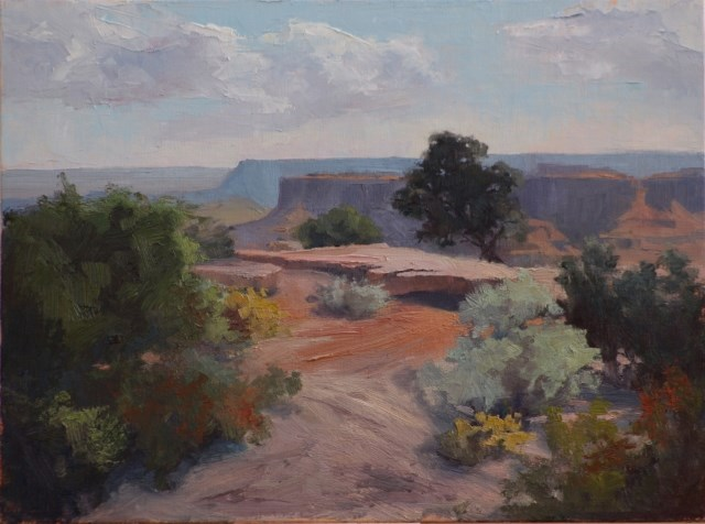 """Dead Horse Point"" original fine art by Sheila Marie"