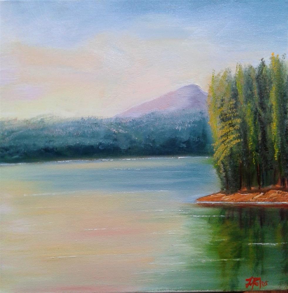 """""""Lake Lanier"""" original fine art by Joann Polos"""