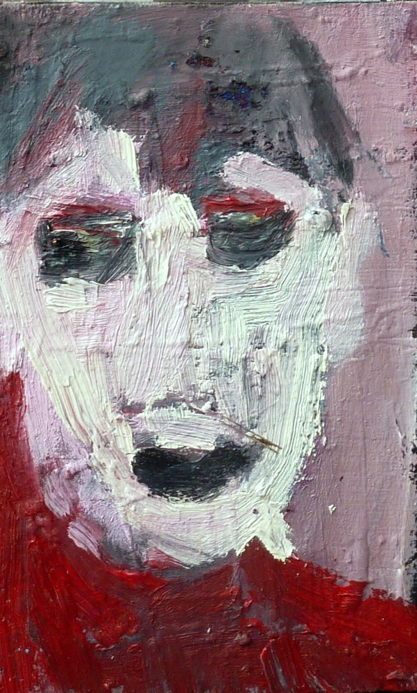 """BOY - Portrait 3"" original fine art by Mila Plaickner"