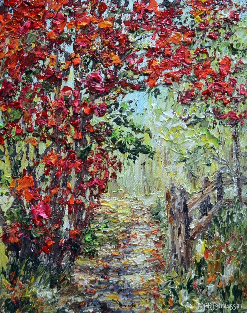 """""""Open Invitation"""" original fine art by Gloria Ester"""
