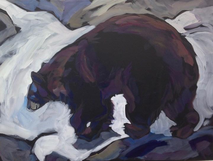 """Decisions- Bearing Left"" original fine art by Kat Corrigan"