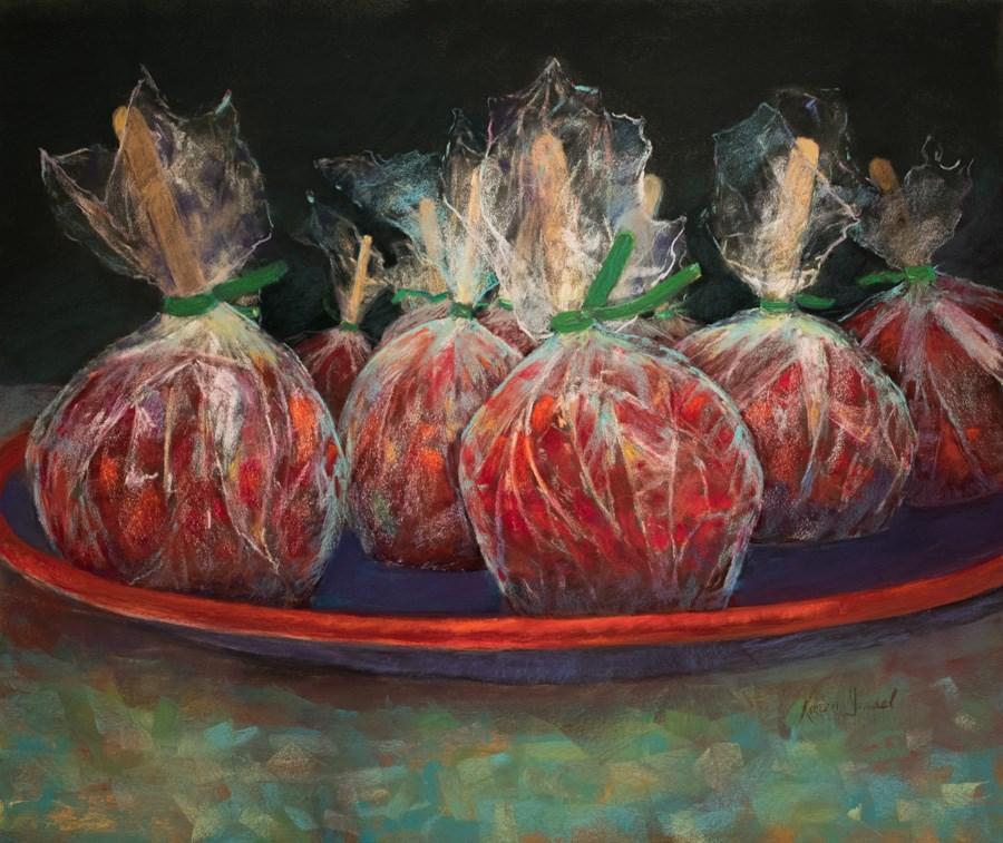 """American Madeleines"" original fine art by karen israel"