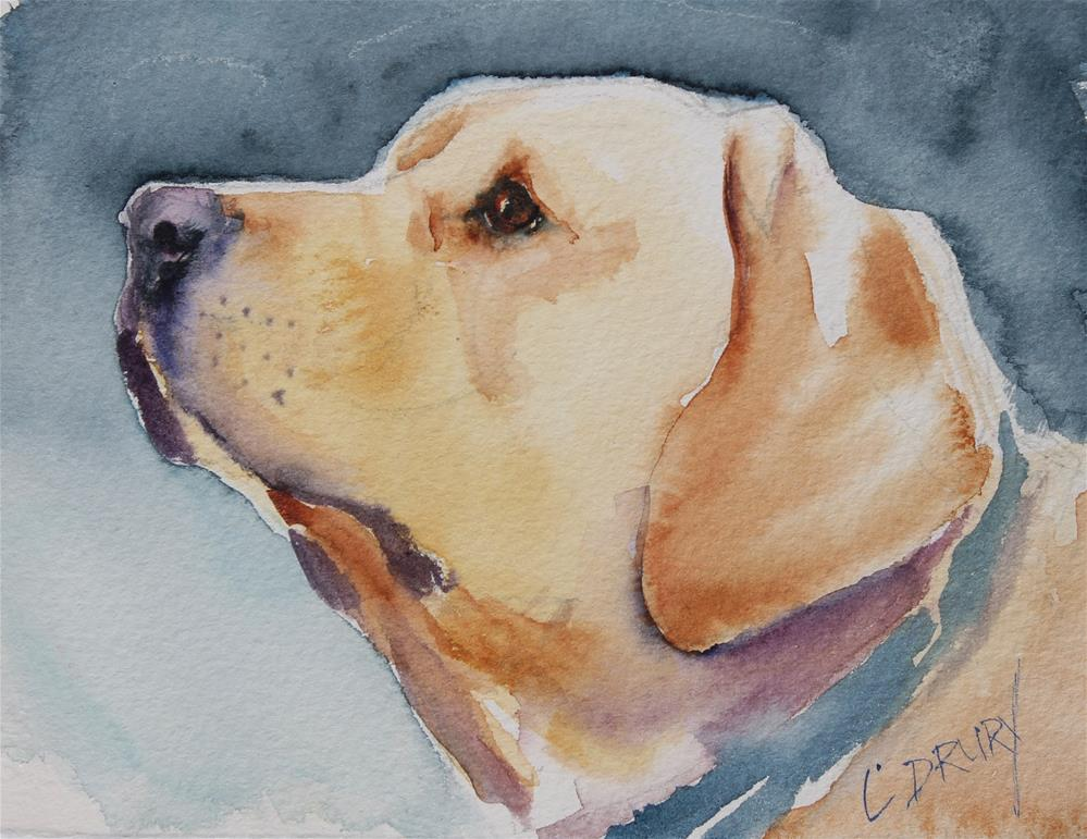 """Loyal"" original fine art by Colleen Drury"