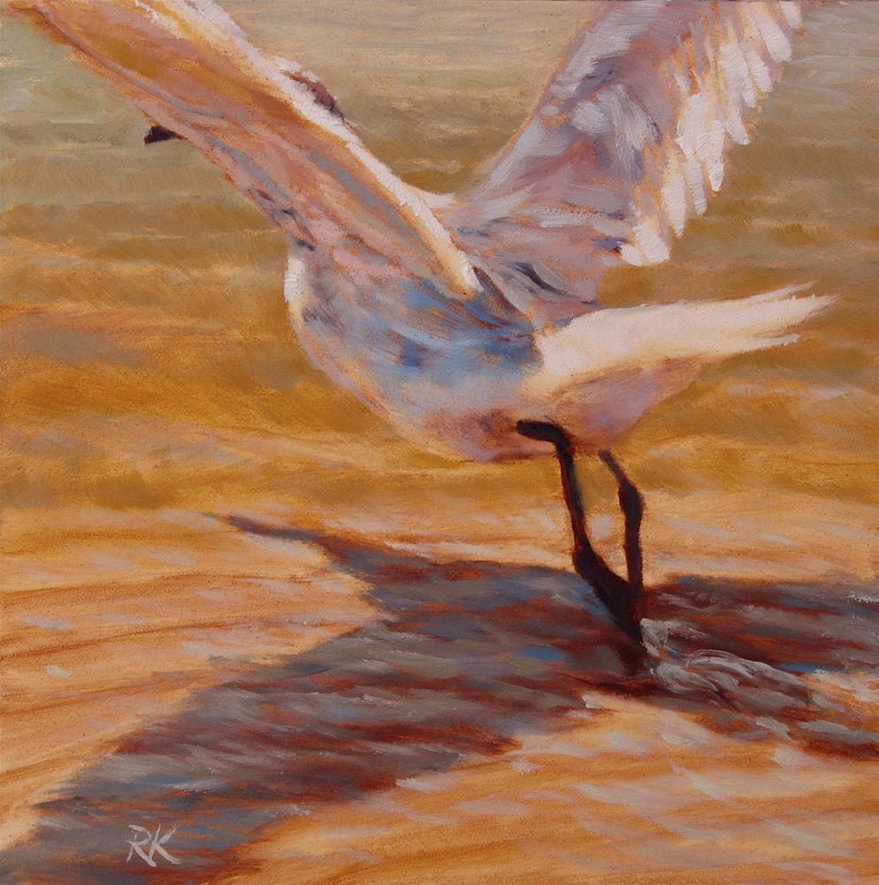 """Skimming the Surface"" original fine art by Rita Kirkman"