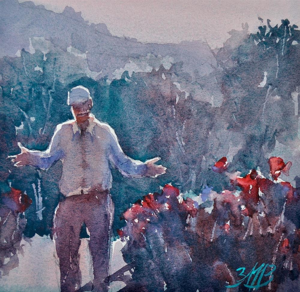 """""""Showing Off Crops"""" original fine art by Brienne M Brown"""