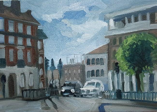 """Little London Study"" original fine art by J M Needham"