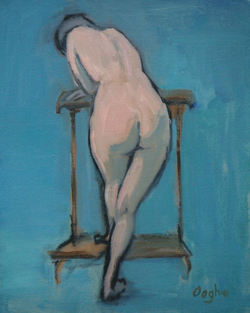 """Derriere"" original fine art by Angela Ooghe"