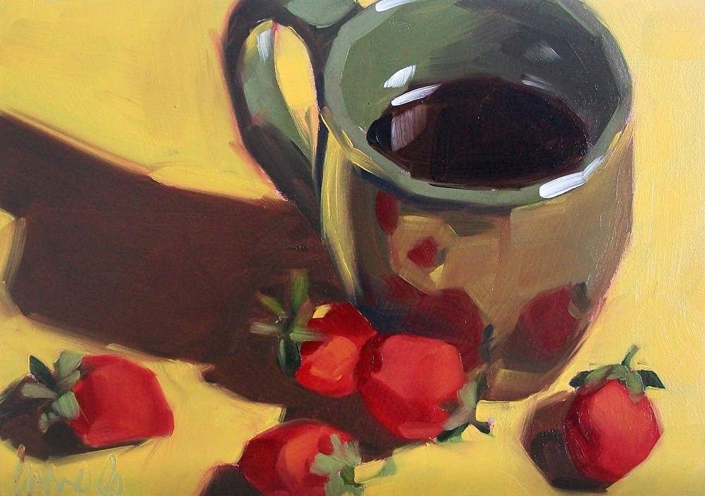 """Summer morning"" original fine art by Brandi Bowman"