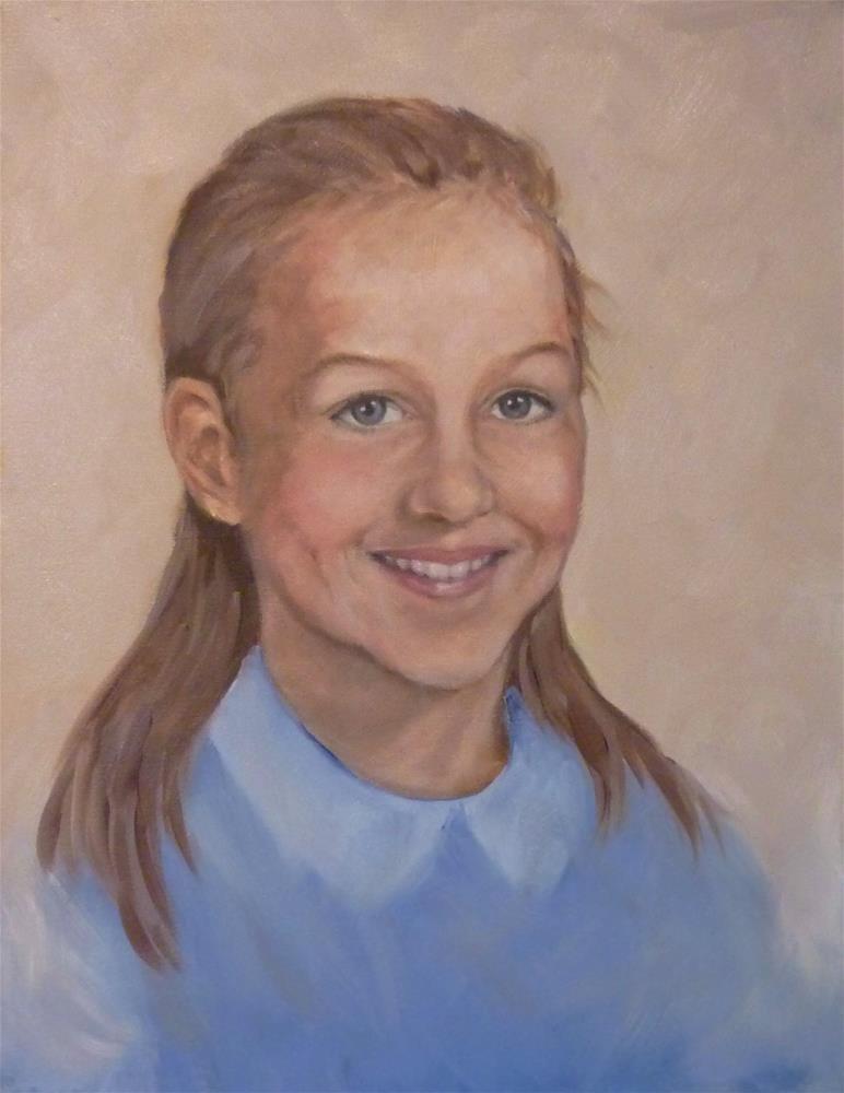 """""""Jen"""" original fine art by Helene Adamson"""