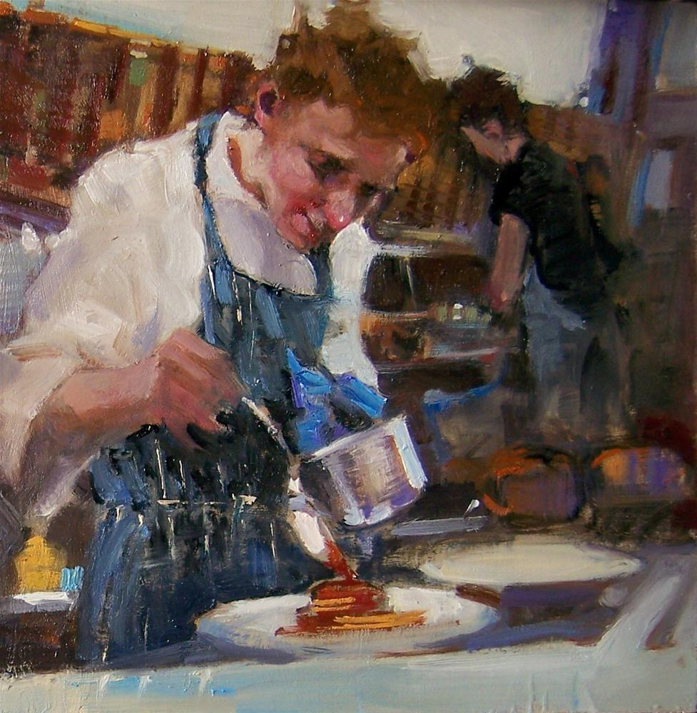 """Love The Sauce"" original fine art by Kim Roberti"