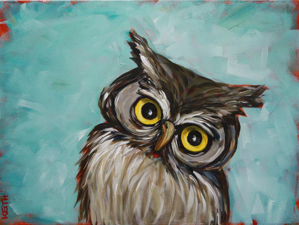 """Norman"" original fine art by Kandice Keith"