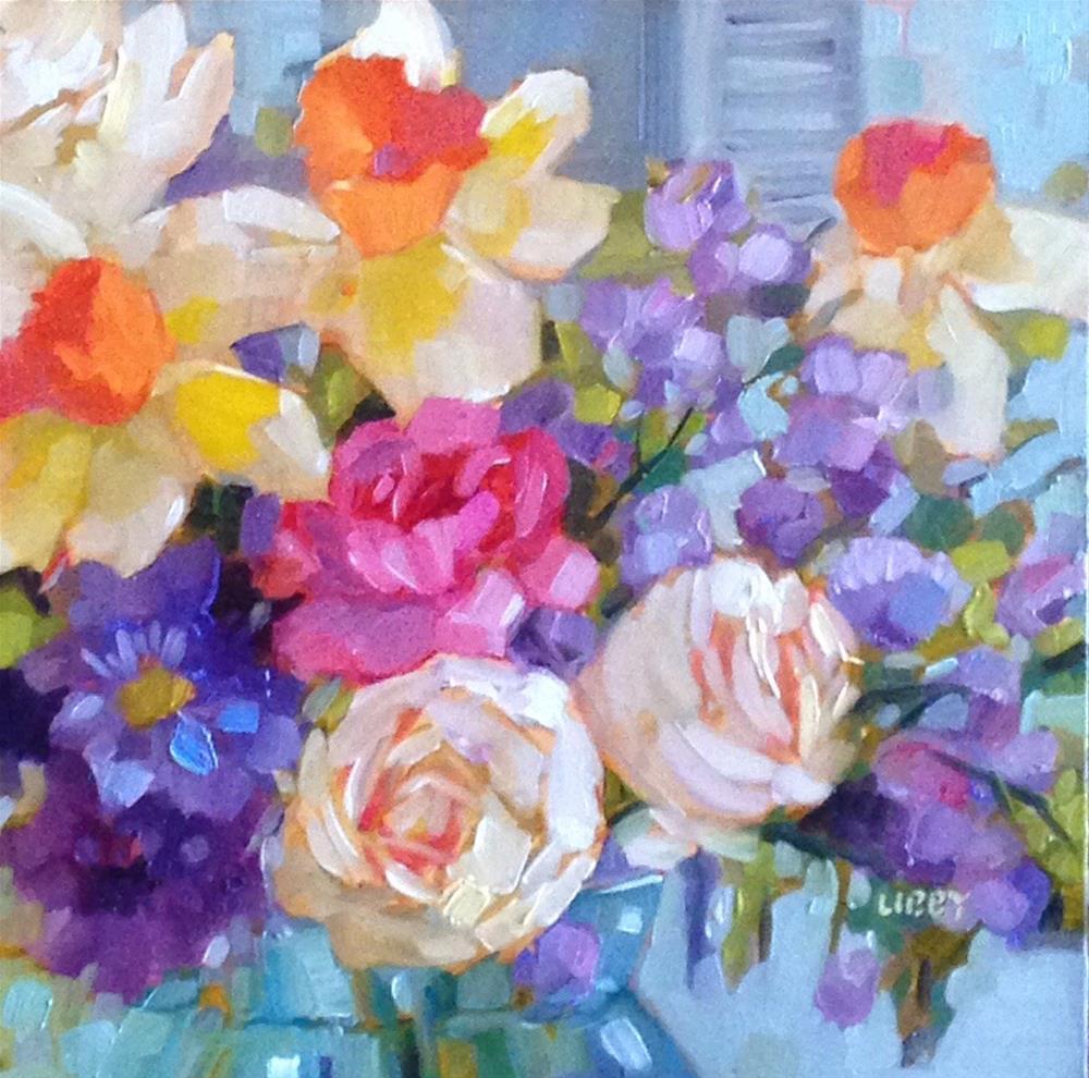 """Breath of Fresh Air"" original fine art by Libby Anderson"
