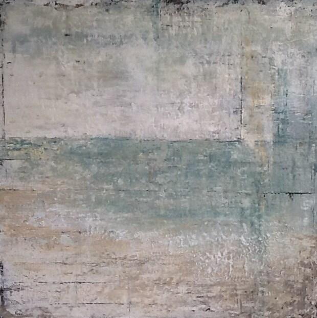"""Sea of Green III"" original fine art by Maureen Bowie"