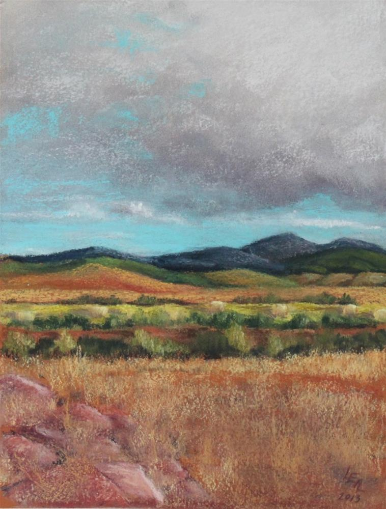 """Clearing Storm"" original fine art by Anna Lisa Leal"