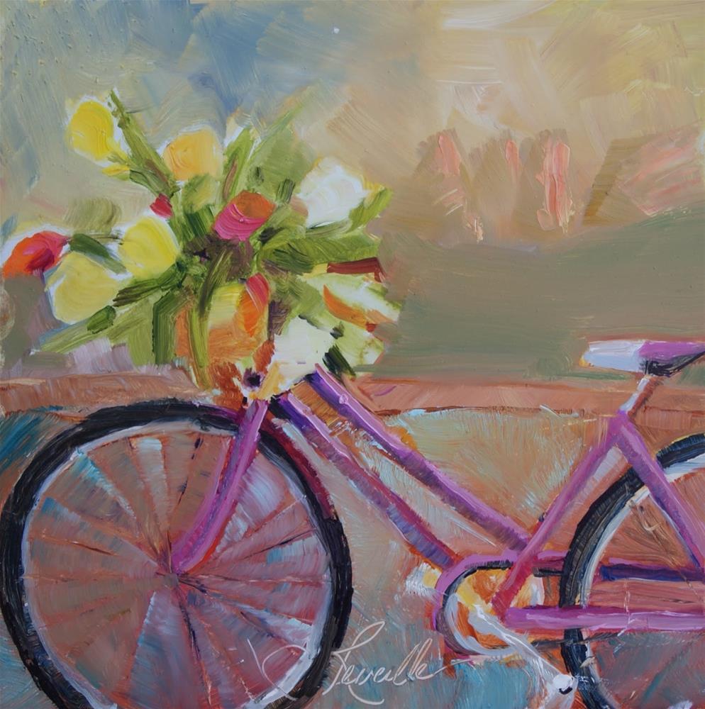 """Bouquet at the Garden"" original fine art by Reveille Kennedy"