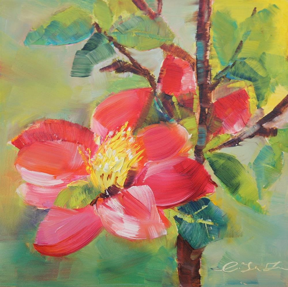 """Greeting"" original fine art by Lisa Fu"