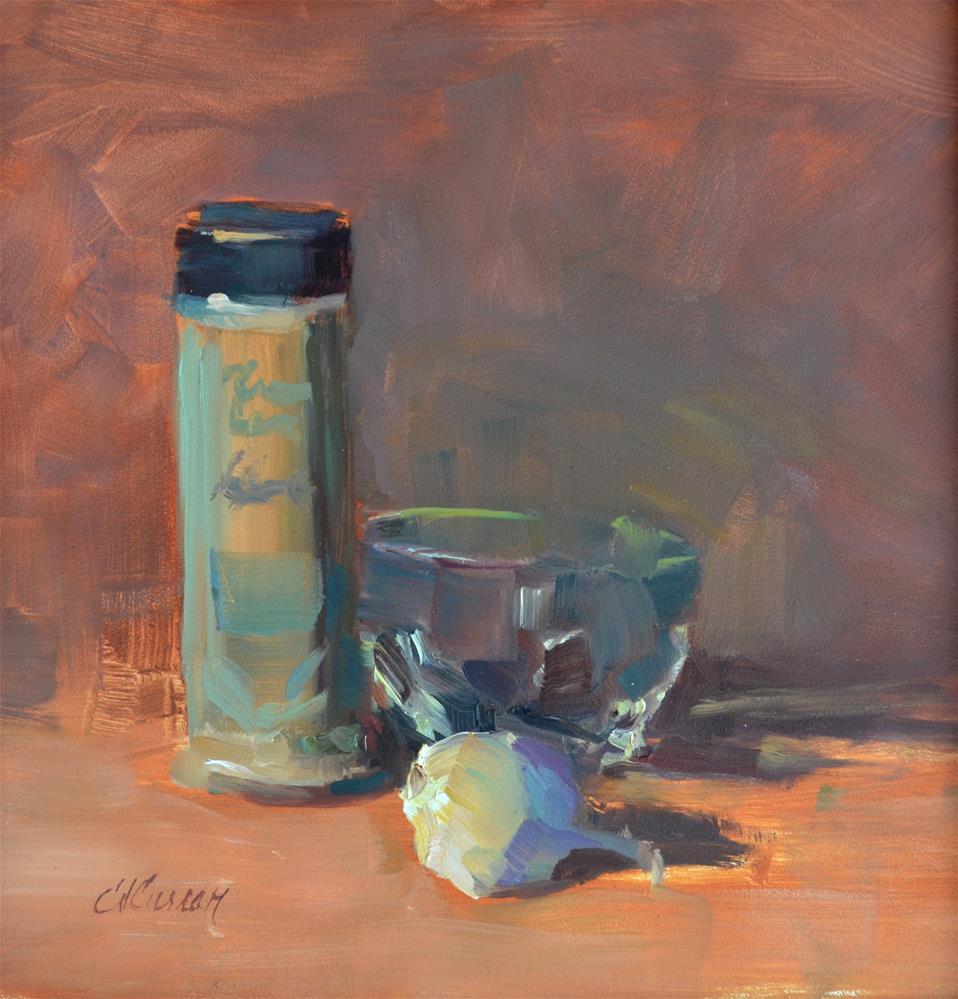 """Spices"" original fine art by Cheryl A Curran"
