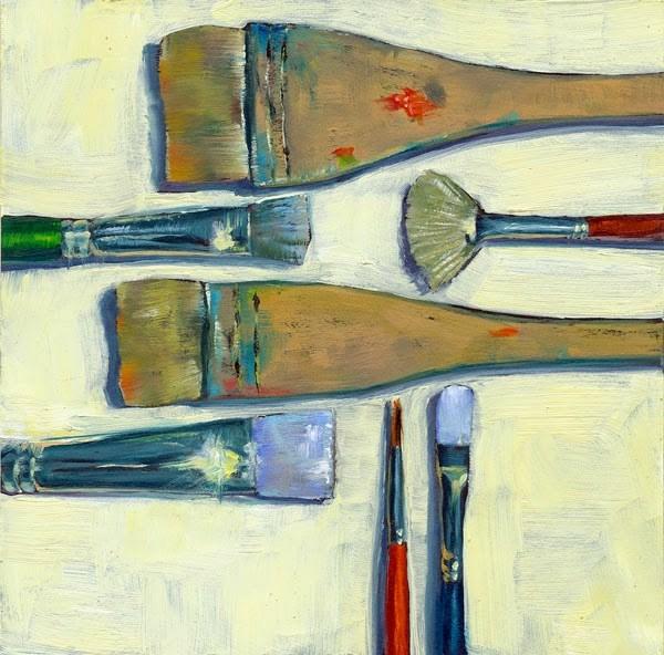 """This Way and That"" original fine art by Brenda Ferguson"