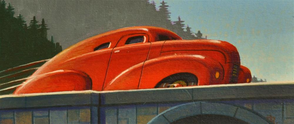 """Coupe"" original fine art by Robert LaDuke"