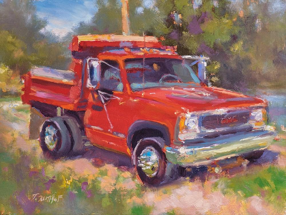 """Short & Stocky"" original fine art by Todd Zuithof"